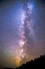 沈みゆく天の川銀河
