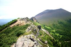 浅間山に挑む