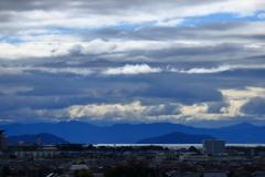故郷と空と琵琶湖