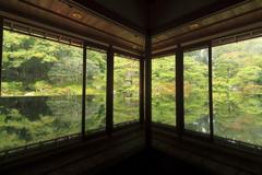 旧竹林院reflection~秋の気配②