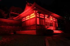神あかり2018~紅に染まる胡宮さん