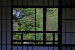 旧竹林院2階より