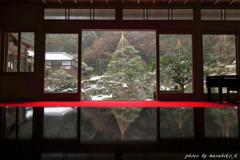 冬の青岸寺