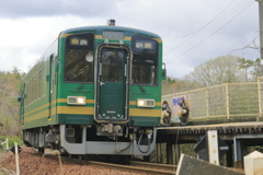 通勤列車?