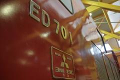 赤い機関車初号機
