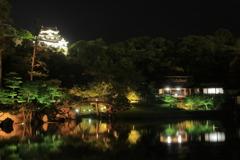 Hikone Castle night view④~大名遊び