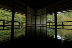 旧竹林院reflection~秋の気配①