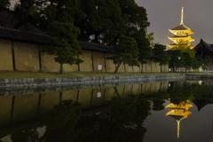 reflection東寺