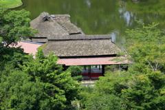 名勝 玄宮園の鳳翔台