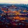 ポルトガル/リスボンの夕暮れ