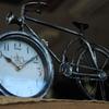 自転車の時計(^^)/