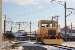 除雪の汽車ですか!(^^)!