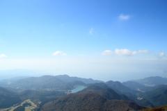 雲仙山頂からの眺望(^^)/