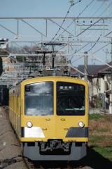 2016年のラストショットも幸せの黄色い電車でした(笑)