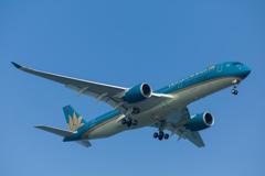 ベトナム航空のエアバス A350-900 (VN-A890)