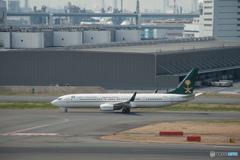 サウジアラビア財務省 ボーイング 737-900 (HZ-MF6)