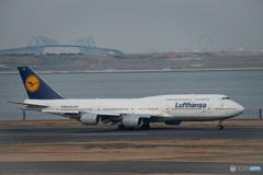 ルフトハンザの Boeing 747-8 (D-ABYA)