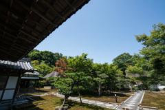 長寿禅寺 本堂前