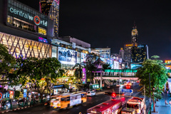 Central World(Bangkok Night)