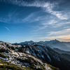 燕岳からの眺め