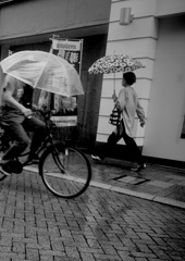 雨の街角ー6