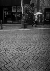 雨の街角ー4