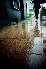 雨の街角ー2