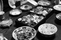 お正月 おせちと白味噌雑煮 〜古の都 12ー1/2〜