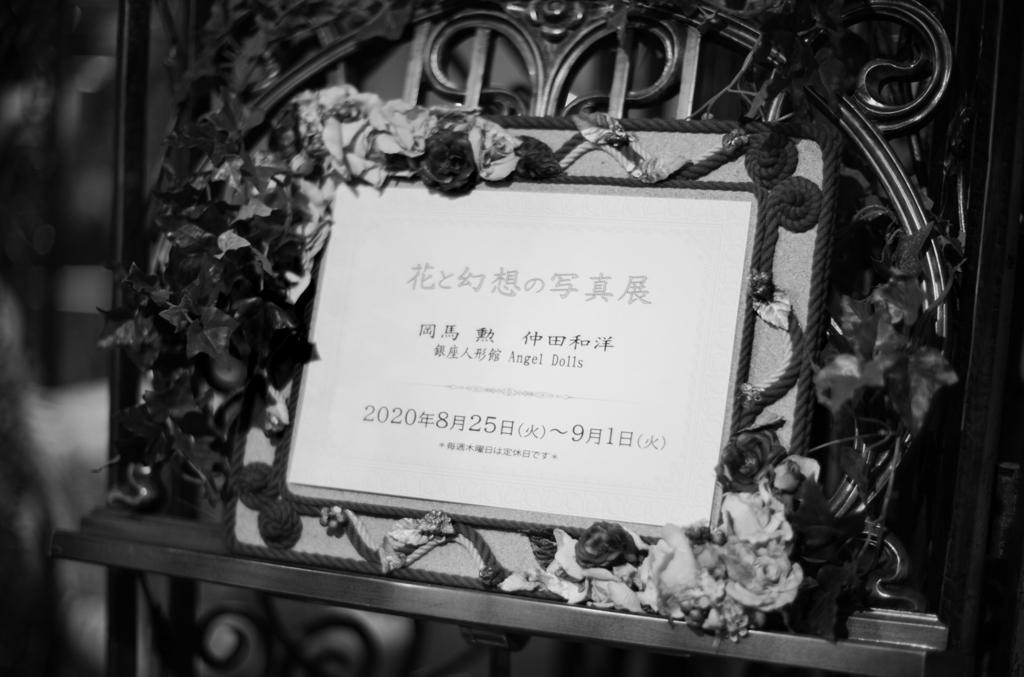 花と幻想の写真展・初日
