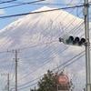 信号待ちで富士山6
