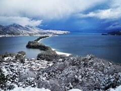 飛龍観 雪景色