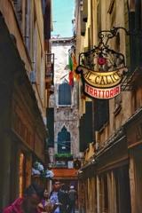 ヴェネチアの路地を歩く  7