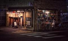 夜の居酒屋