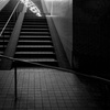 Light on the stairs by B/W