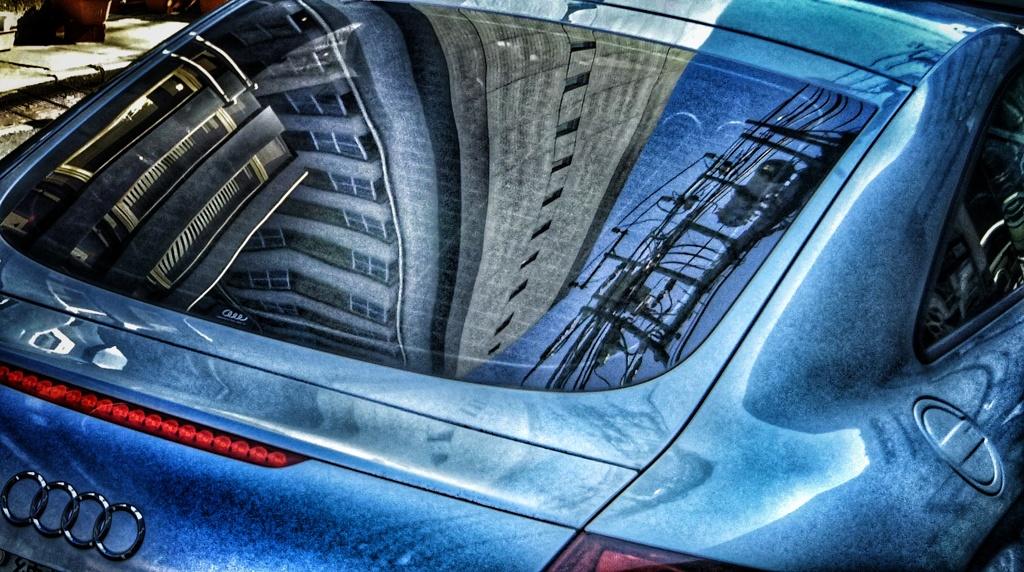 高級車に映る世界は違うか?