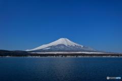山中湖より富士山
