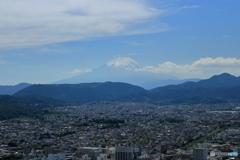 梅雨前の富士山