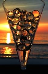 Deodorant beads