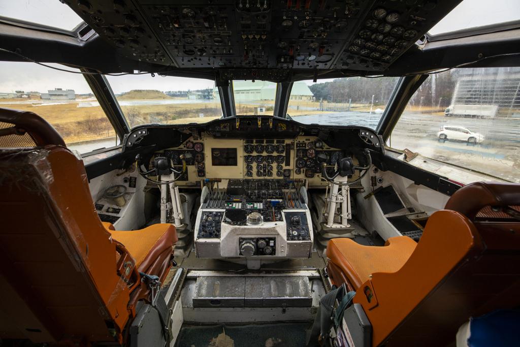 P-3操縦席