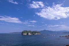 宮古湾の風景