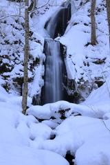 雲井の滝・雪景色
