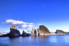 浄土ヶ浜の風景Ⅰ