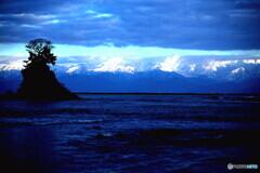 立山の夕暮れ