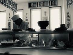 襟裳岬の寿司屋