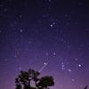 昨日の夜空