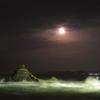 二見 夫婦岩の十六夜