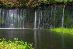 「白糸の滝」