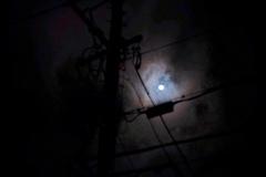 仲秋の迷月