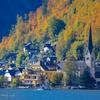 湖畔の美しい街