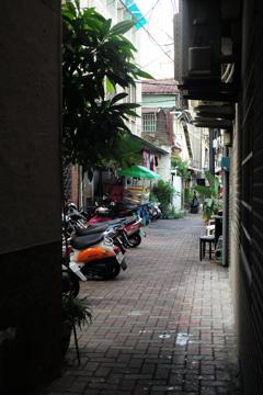 台湾 台南 路地裏(284)